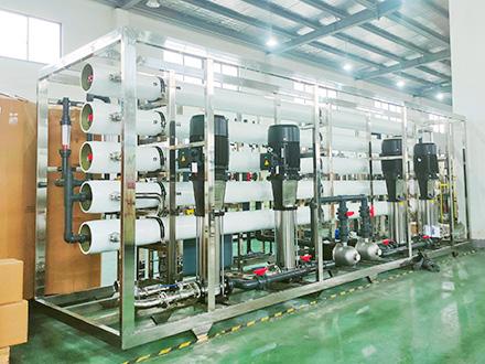 化妆品行业企业水系统安装案例