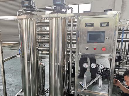 食品行业企业水系统安装案例