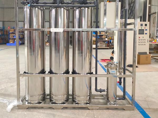 建筑工地生活用水超滤制水设备