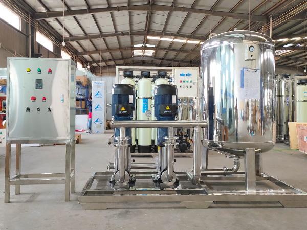 大型不锈钢变频恒压供水设备