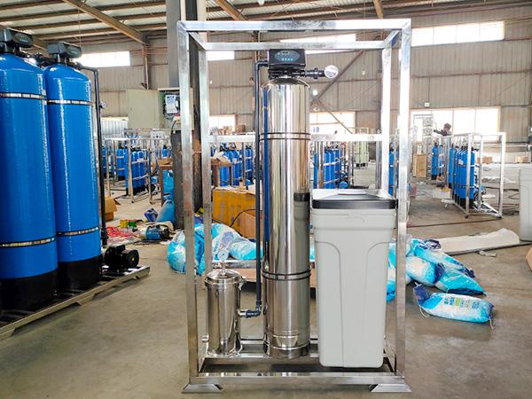 不锈钢全自动软水除垢设备