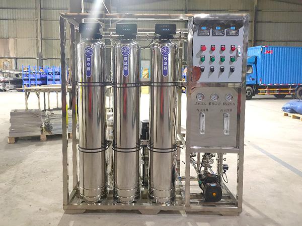 校园直饮水全304不锈钢反渗透设备